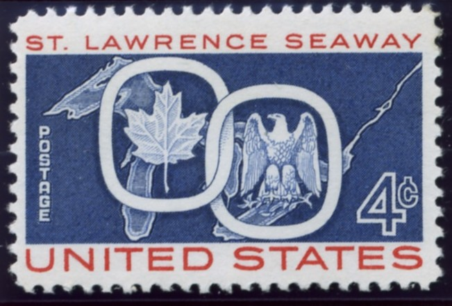 Scott 1131 4 Cent Stamp St Lawrence Seaway