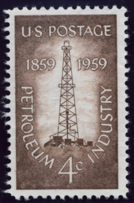 Scott 1134 4 Cent Stamp Petroleum Industry