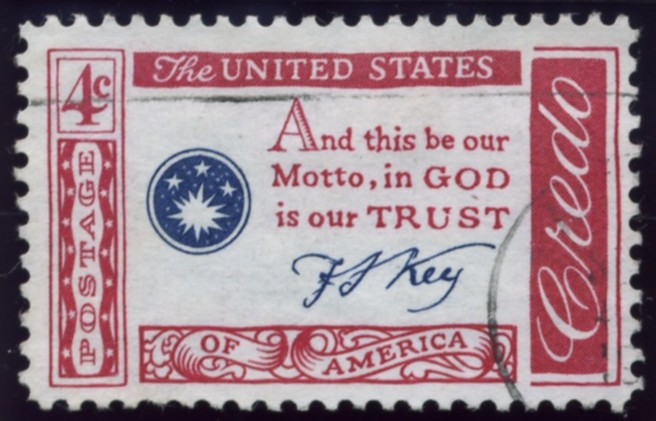 Scott 1142 4 Cent Stamp Credo - Key