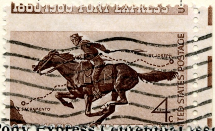 Scott 1154 4 Cent Stamp Pony Express a