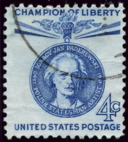 Scott 1159 4 Cent Stamp Ignacy Jan Paderewski