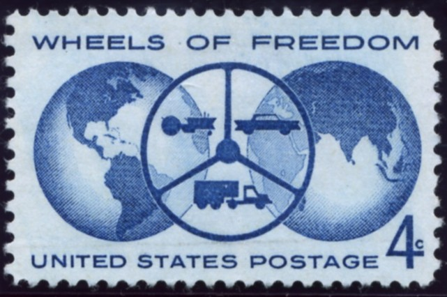 Scott 1162 4 Cent Stamp Wheels Of Freedom