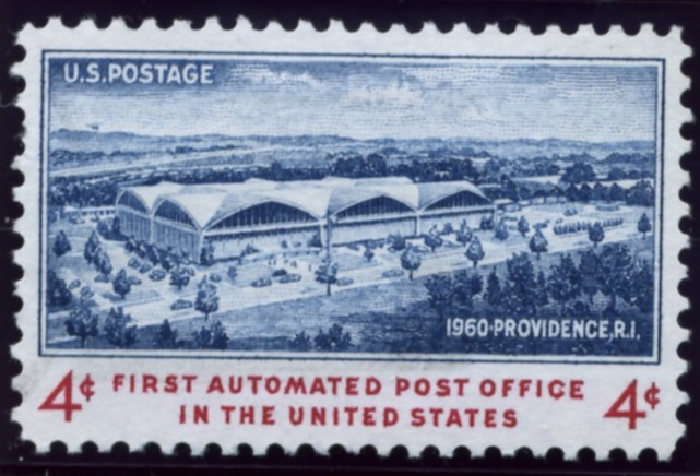Scott 1164 4 Cent Stamp First Automated Post Office