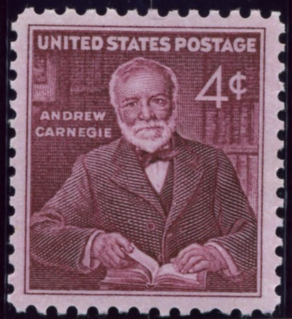 Scott 1171 4 Cent Stamp Andrew Carnegie