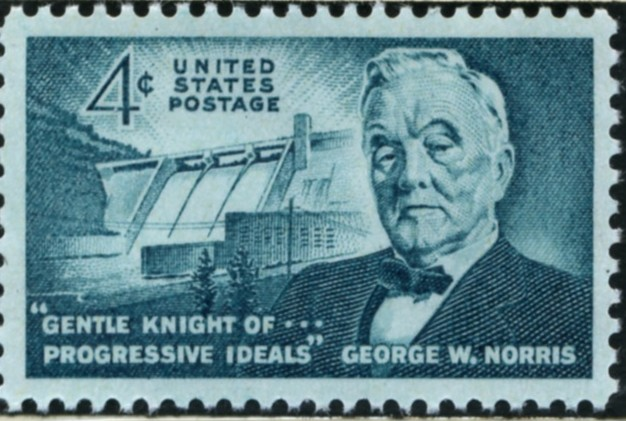 Scott 1184 4 Cent Stamp George W Norris
