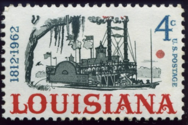 Scott 1197 4 Cent Stamp Louisiana Statehood