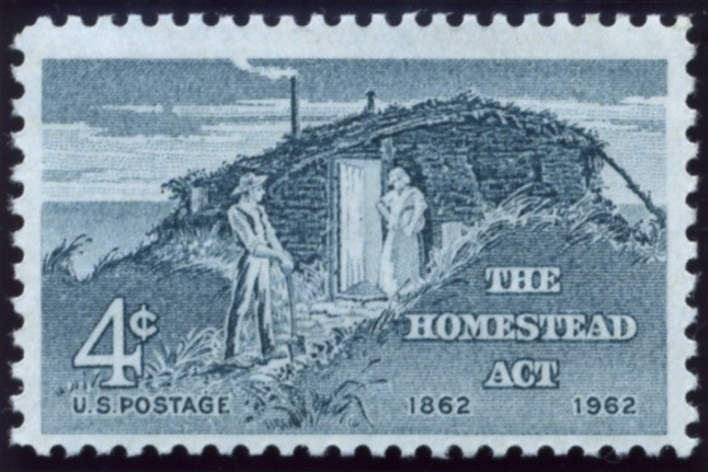 Scott 1198 4 Cent Stamp The Homestead Act