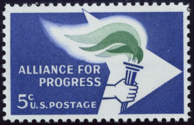 Scott 1234 5 Cent Stamp Alliance For Progress