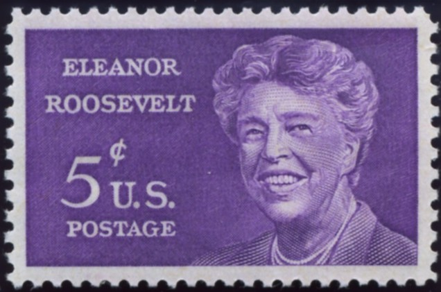 Scott 1236 5 Cent Stamp Eleanor Roosevelt