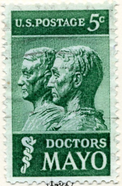 Scott 1251 5 Cent Stamp The Doctors Mayo a