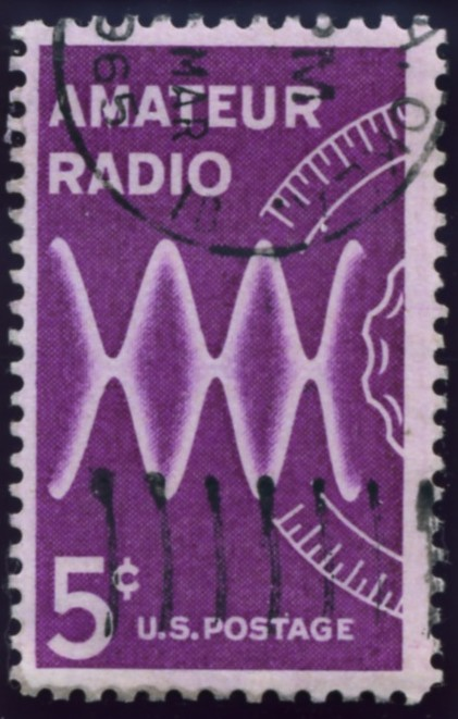 Scott 1260 5 Cent Stamp Amateur Radio