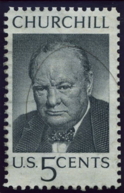 Scott 1264 5 Cent Stamp Winston Churchill