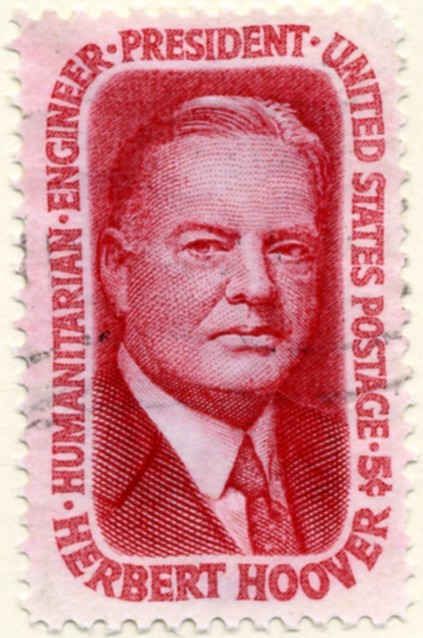 Scott 1269 5 Cent Stamp Herbert Hoover a