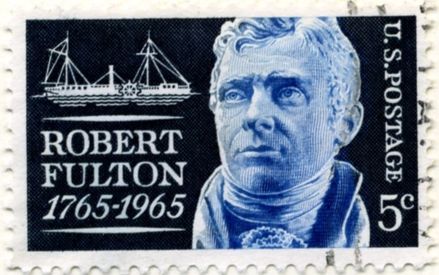 Scott 1270 5 Cent Stamp Robert Fulton a