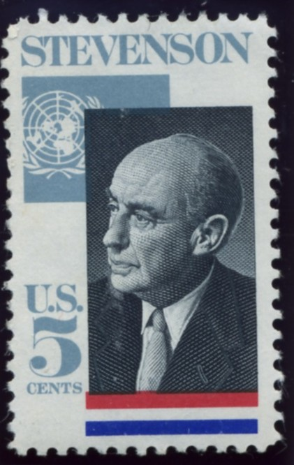 Scott 1275 5 Cent Stamp Adlai E Stevenson