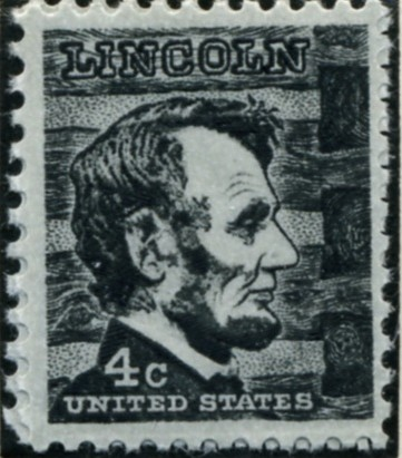 Scott 1282 4 Cent Stamp Abraham Lincoln