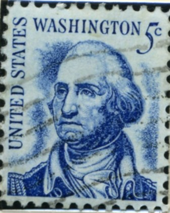 Scott 1283 5 Cent Stamp George Washington