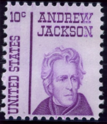 Scott 1286 10 Cent Stamp Andrew Jackson