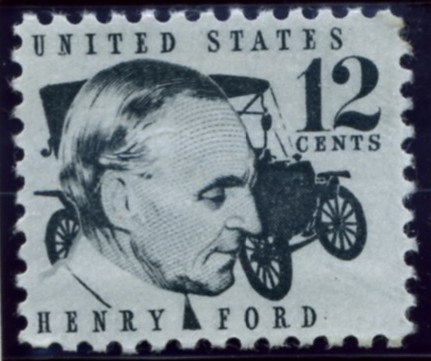 Scott 1286A 12 Cent Stamp Henry Ford