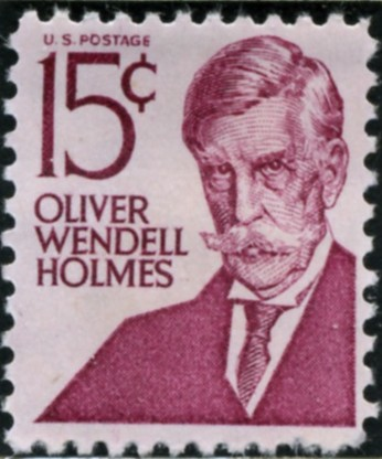 Scott 1288 15 Cent Stamp Oliver Wendell Holmes type 1