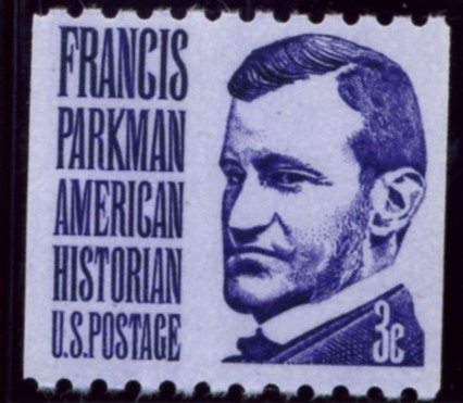 Scott 1297 3 Cent Stamp Francis Parkman perforated 10 horizontally