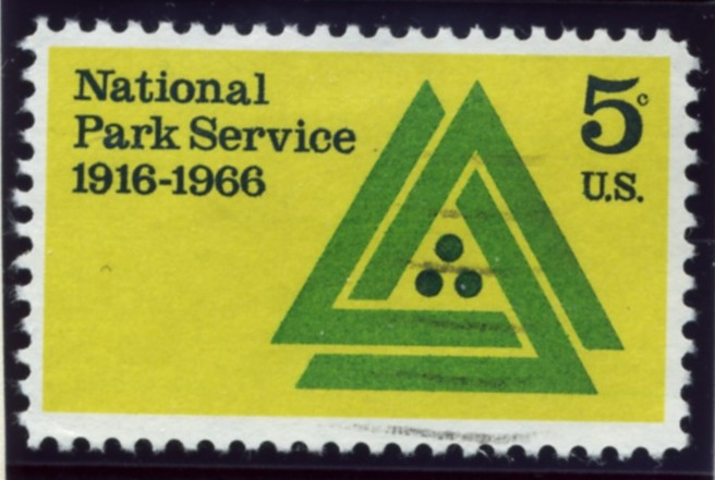 Scott 1314 5 Cent Stamp National Park Service
