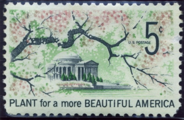 Scott 1318 5 Cent Stamp Plant for Beautification