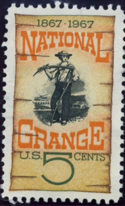 Scott 1323 5 Cent Stamp National Grange Centenary