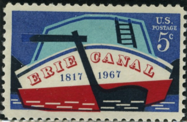 Scott 1325 5 Cent Stamp Erie Canal