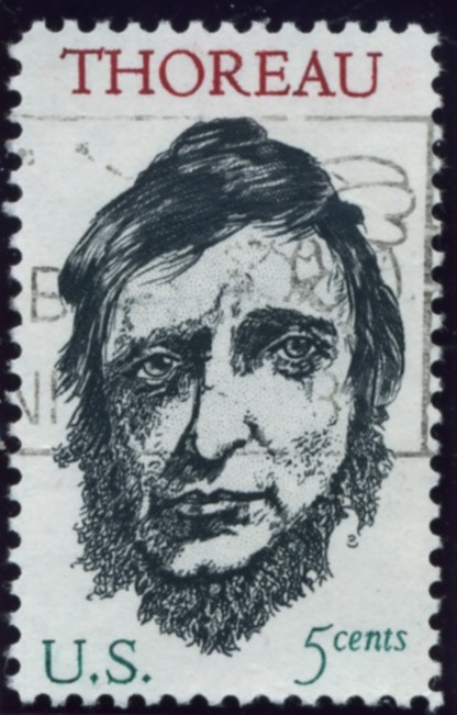 Scott 1327 5 Cent Stamp Henry David Thoreau