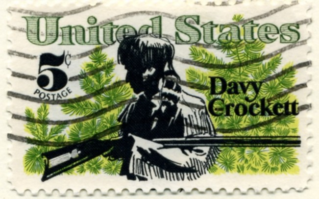 Scott 1330 5 Cent Stamp Davy Crockett