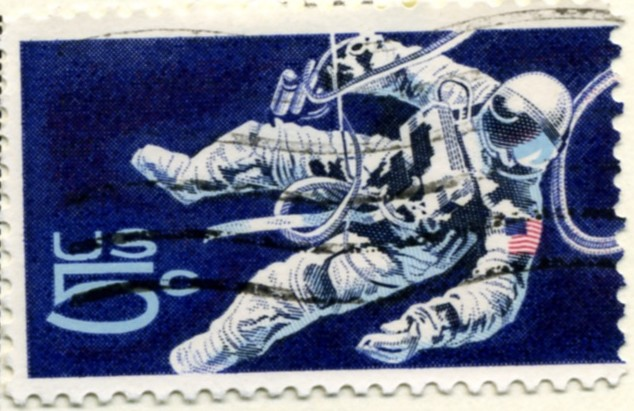 Scott 1331 5 Cent Stamp Astronaut a