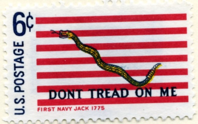 Scott 1354 6 Cent Stamp First Navy Jack a