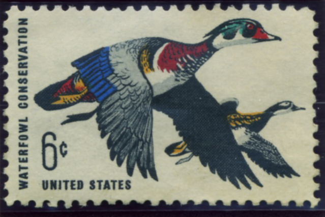 Scott 1362 6 Cent Stamp Waterfowl Conservation a