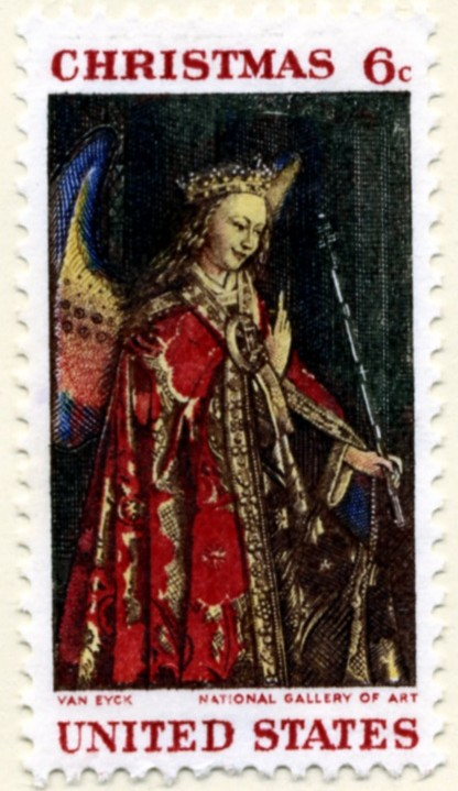 Scott 1363 6 Cent Stamp Christmas Madonna and Child