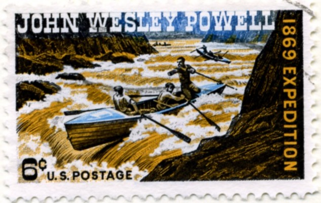 Scott 1374 6 Cent Stamp John Wesley Powell a