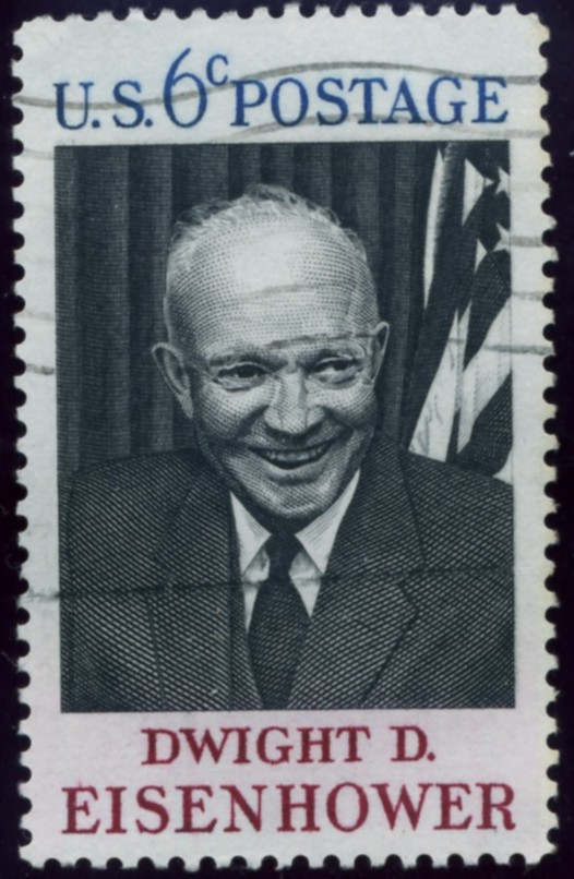 Scott 1383 6 Cent Stamp Dwight D Eisenhower