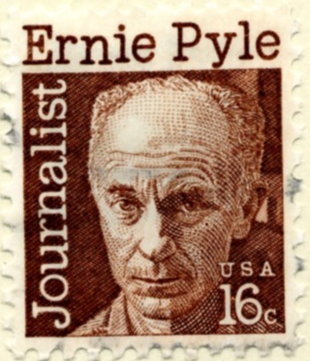 Scott 1398 18 Cent Stamp Ernie Pyle a