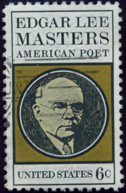 Scott 1405 6 Cent Stamp Edgar Lee Masters