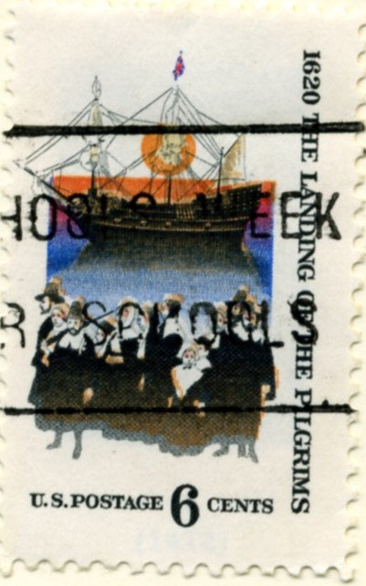 Scott 1420 6 Cent Stamp Landing Of The Pilgrims a