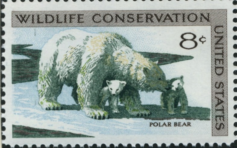 Scott 1429 8 Cent Stamp Polar Bear