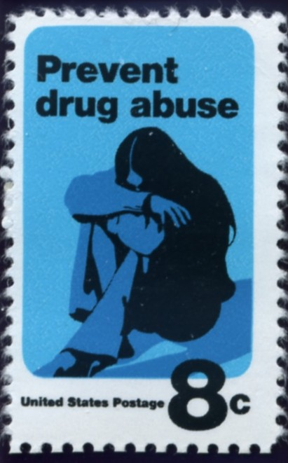 Scott 1438 8 Cent Stamp Prevent Drug Abuse