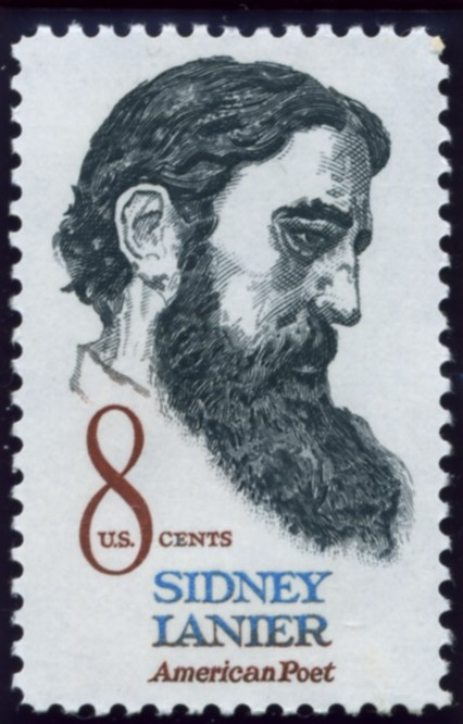 Scott 1446 8 Cent Stamp Sidney Lanier