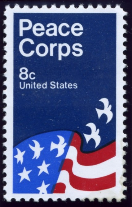 Scott 1447 8 Cent Stamp Peace Corps