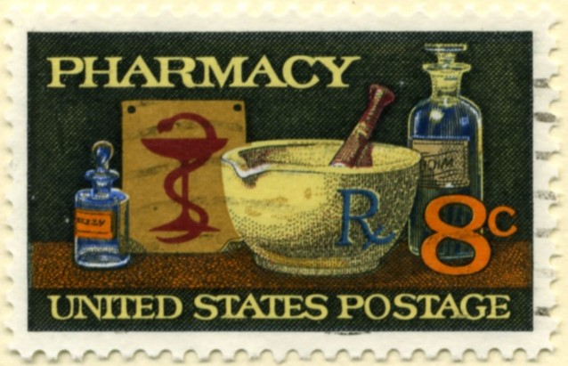 Scott 1473 8 Cent Stamp Pharmacy a