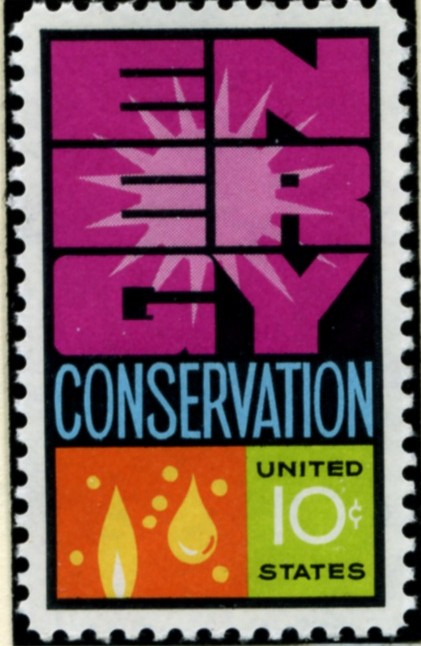 Scott 1547 10 Cent Stamp Energy Conservation