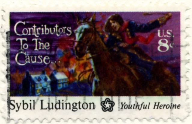 Scott 1559 8 Cent Stamp Sybil Ludington