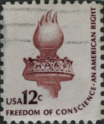 Scott 1594 12 Cent Stamp Torch Of Liberty