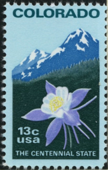 Scott 1711 13 Cent Stamp Colorado Statehood