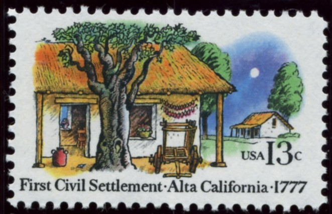 Scott 1725 13 Cent Stamp Alta California